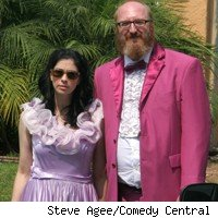 Sarah Silverman and Brian Posehn of 'The Sarah Silverman Program'