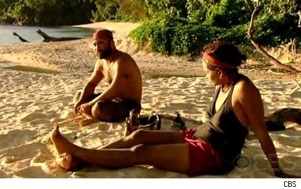 Russell and Sandra on 'Survivor: Heroes vs. Villains'