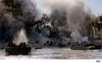 'The Pacific' - 'Peleliu Landing'