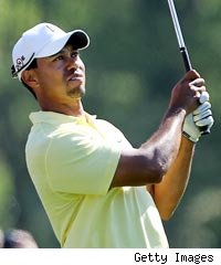 Tiger Woods Masters 2010