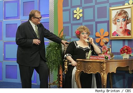 Kathy Kinney and Drew Carey on the April Fool's Day Episode of 'The Price is Right'