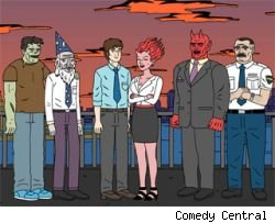 Comedy Central has ordered seven additional episodes of 'Ugly Americans'
