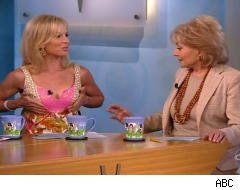 Barbara Walters Ponders Elisabeth Hasselbeck's Breasts (VIDEO)
