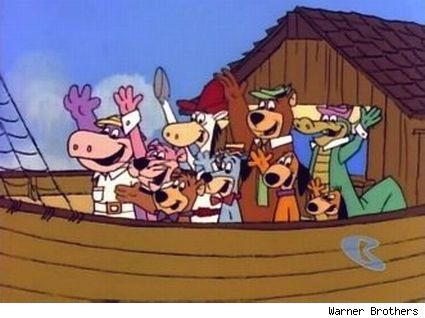 Yogi Bear and the rest of the crew of 'Yogi's Gang'
