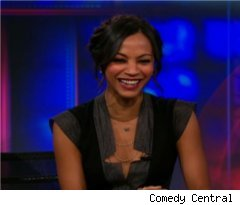 Zoe Saldana on 'The Daily Show'