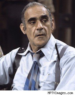 Abe Vigoda as Fish on 'Barney Miller'
