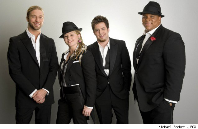 The final four contestants in 'American Idol' Season nine