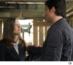 Annette O'Toole and Tom Welling