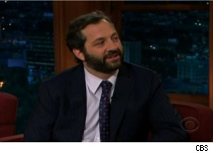 Apatow Mixes Metaphors on 'Late Late Show'