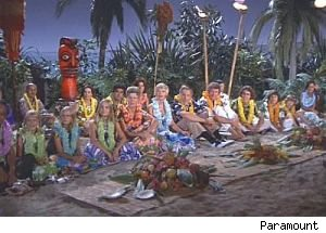 The Brady's go to Hawaii -- One of a half-dozen sitcom familes that have traveled to the Aloha State