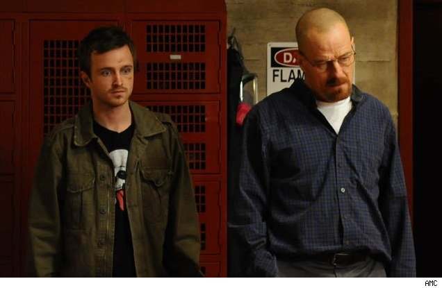 Aaron Paul and Bryan Cranston in 'Breaking Bad' - 'Fly'