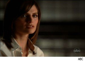 Castle and Beckett on 'Castle'