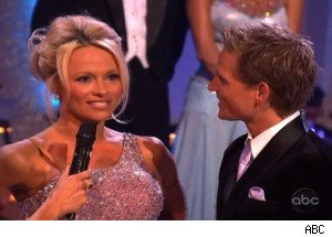 Pamela Anderson Is Eliminated on 'Dancing With the Stars'