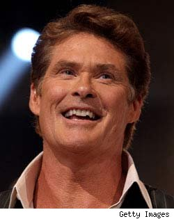 David Hasselhoff - Apr. 23 - Getty Images