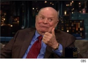 Don Rickles Teases David Letterman, Regis Philbin