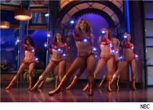 Robert Downey Jr.'s Ironettes on 'Tonight'