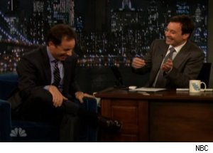 Jimmy Fallon, Jerry Seinfeld Mimic Seinfeld