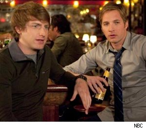 Fran Kranz and Ryan Hansen in Friends WIth Benefits