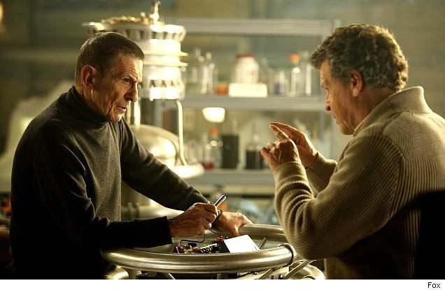 Fringe: Over There, Part 2; Leonard Nimoy, John Noble