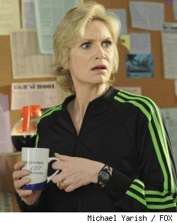 Jane Lynch in 'Glee' - 'Bad Reputation'