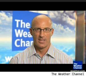 Jim Cantore of The Weather Channel