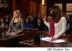 A Roommate Squabble on 'Judge Judy'