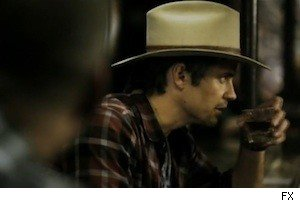 Timothy Olyphant as Raylan Givens on 'Justified'