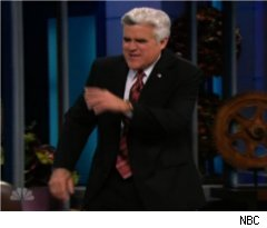 Leno Leaves Favreau Interview on 'Tonight Show'