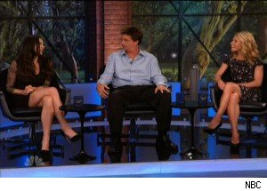 Demi Moore, Kelly Ripa and Jim Breuer on 'The Marriage Ref'