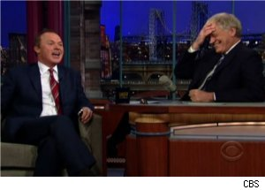 Michael Keaton Talks Childhood on 'Late Show'
