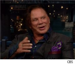 Mickey Rourke Talks Arm Wrestling Injury
