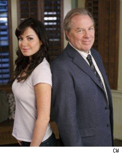 Erica Durance and Michael McKean