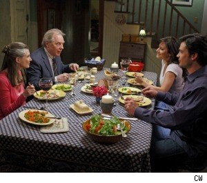 Annette O'Toole, Michael McKean, Erica Durance and Tom Welling