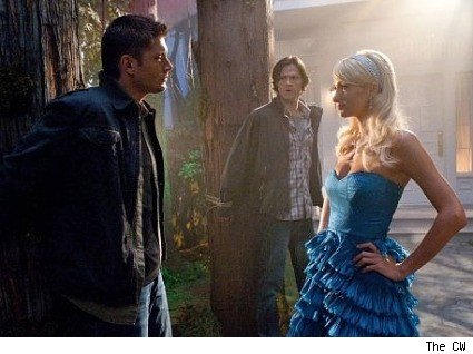 Supernatural, Paris Hilton, Jared Padalecki, Jensen Ackles