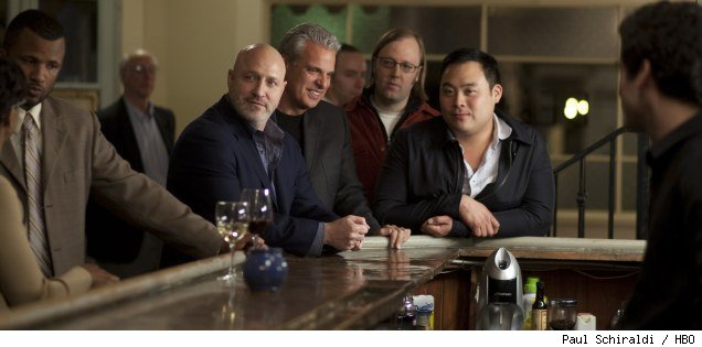 Tom Colicchio, Eric Ripert, Wylie Dufresne, and David Chang on 'Treme' - 'Shame Shame Shame'