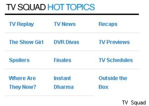 TV Squad Hot Topics