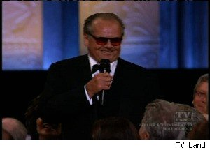 Jack Nicholson Makes a Weird Speech at 'The AFI Life Achievement Award'