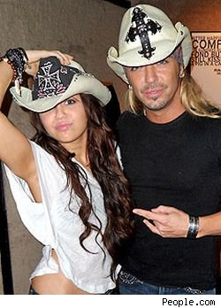 Bret Michaels will duet with Miley Cyrus on Friday's 'Good Morning America.'