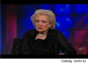 Jon Stewart Is Concerned for Betty White