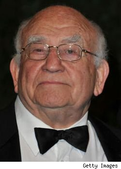 Ed Asner has been cast as Tom Arnold's father in the CMT pilot 'Regular Joe.'