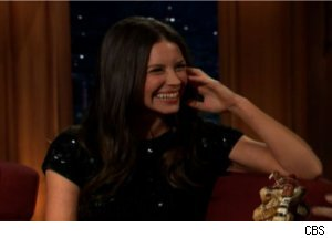 Evangeline Lilly Wants to Undress on 'Late Late Show'