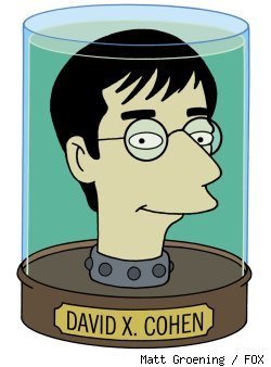 David X. Cohen, executive producer of 'Futurama'