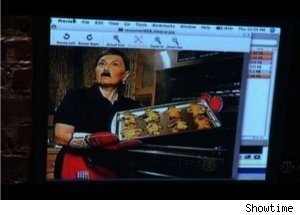 Roseanne Talks Photo of Jew-Baking Hitler