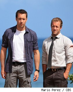 Alex O' Laughlin and Scott Caan in 'Hawaii Five-O