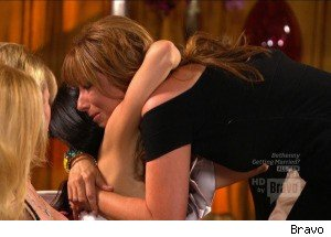 Jill and Bethenny Hug and Make Up on 'Real Housewives'