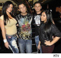 'Jersey Shore' on MTV