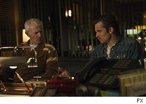 Timothy Olyphant and Raymond Barry on 'Justified'