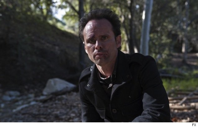 Walton Goggins as Boyd Crowder on 'Justified'