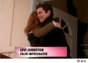 Kathy Griffin Visits Levi Johnston, Palin Home