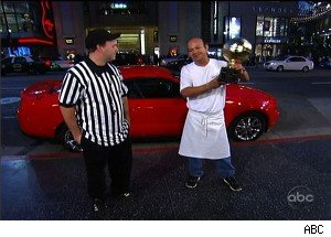 A Busboy Defeats the NBA on 'Jimmy Kimmel'